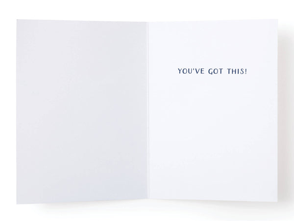 I Believe in You Yeti Greeting Card