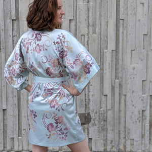 Floral Painted Robe Small