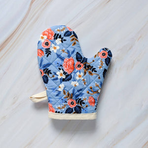 Periwinkle Birch Rifle Paper Co Oven Mitt