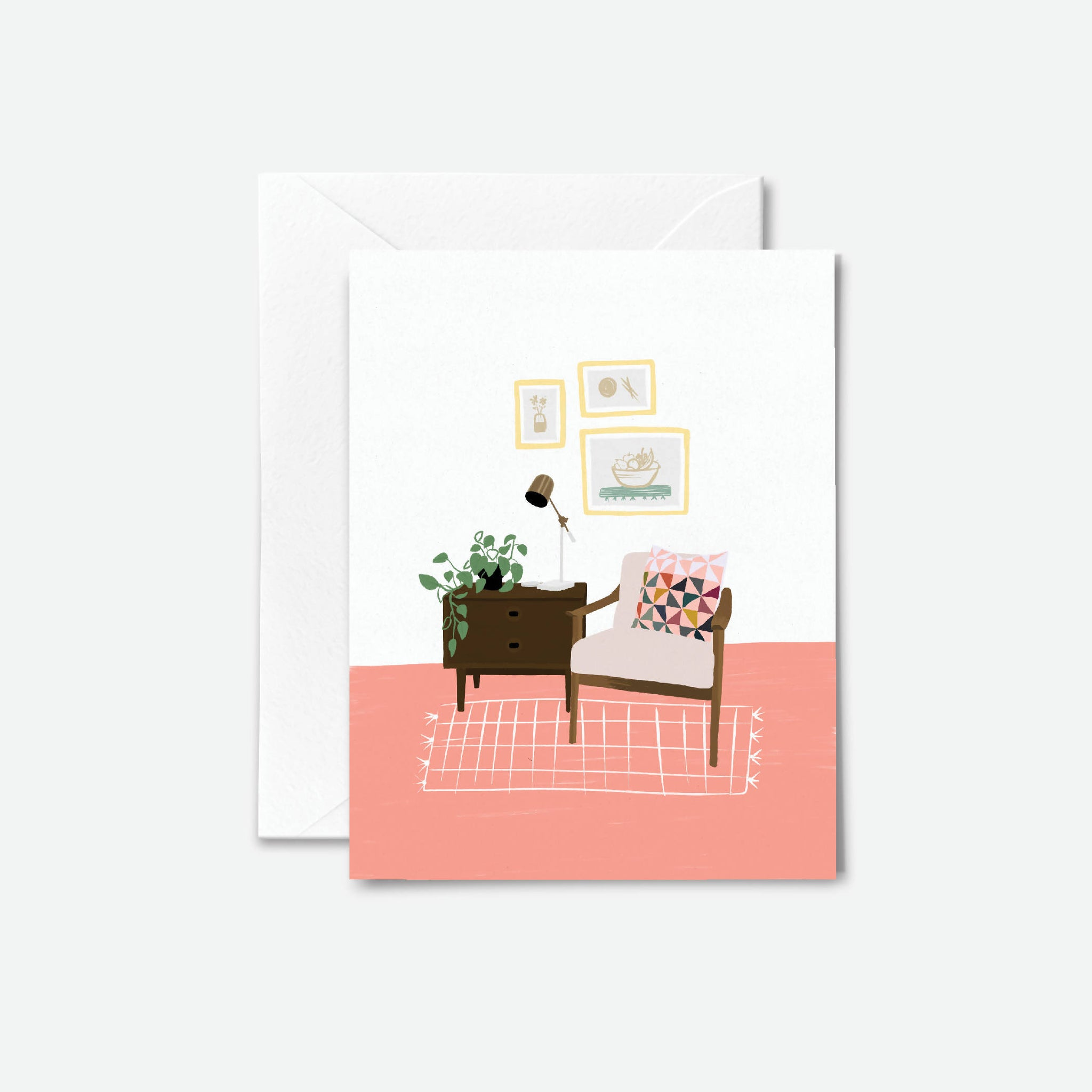 Plant Lady Greeting Card