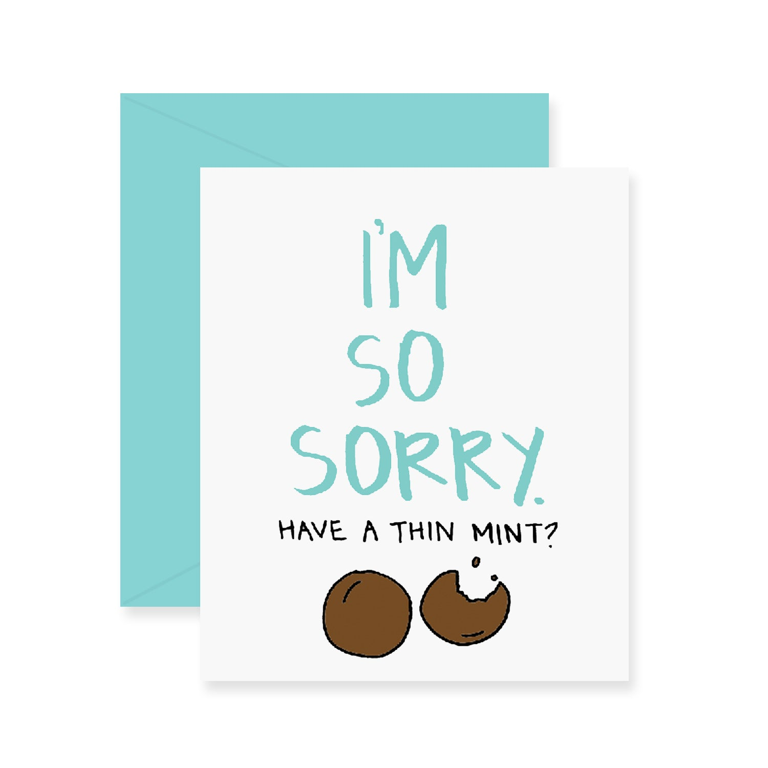 Thin Mint Greeting Card
