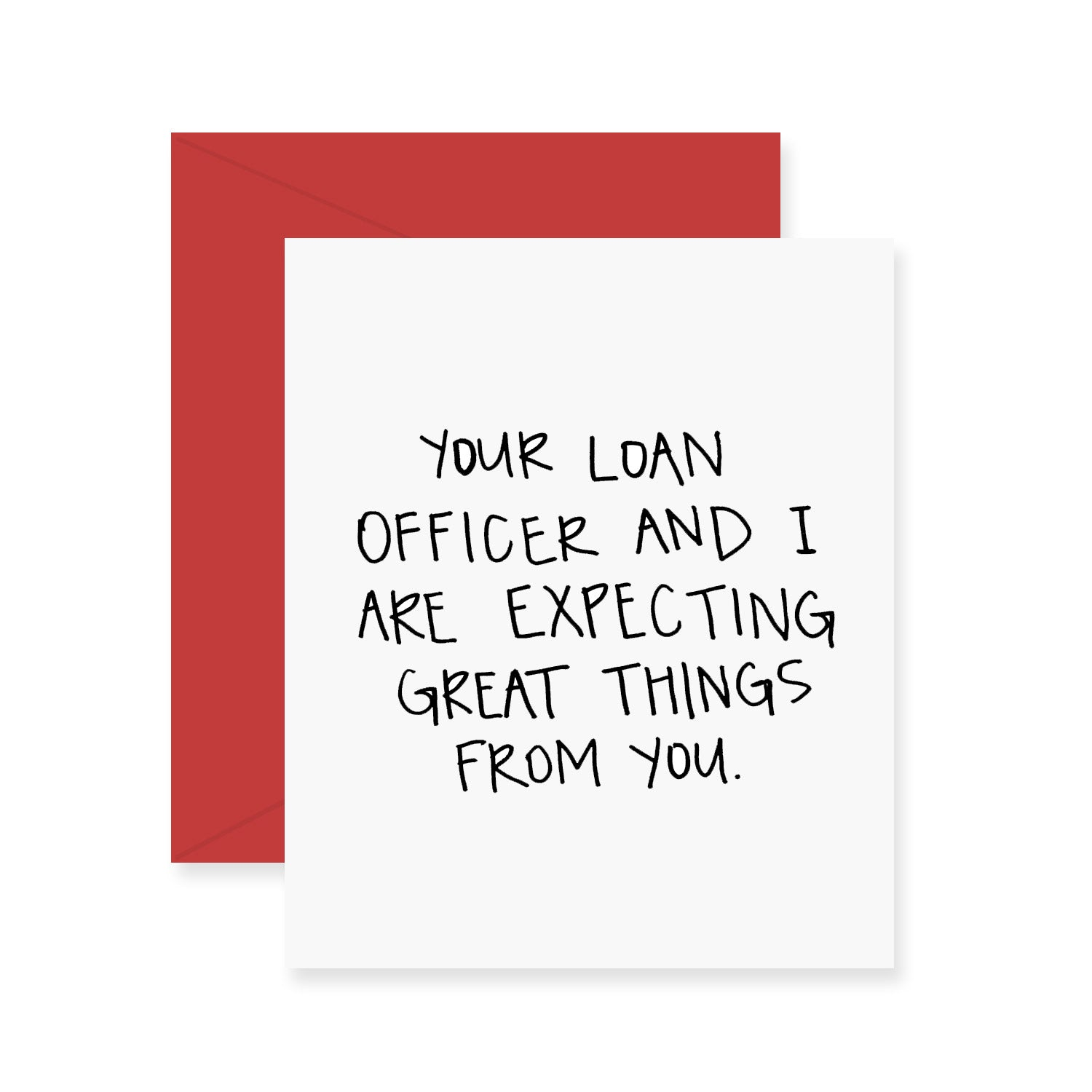 Loan Officer Greeting Card