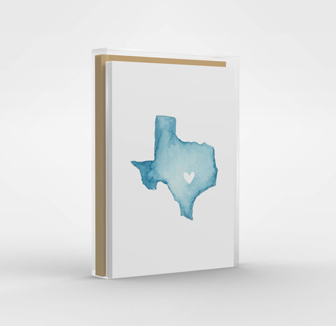 Texas Greeting Cards - Boxed Set of 6