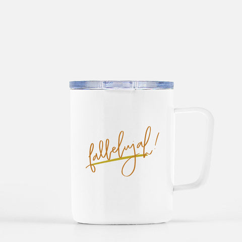 Fallelujah Travel Coffee Mug
