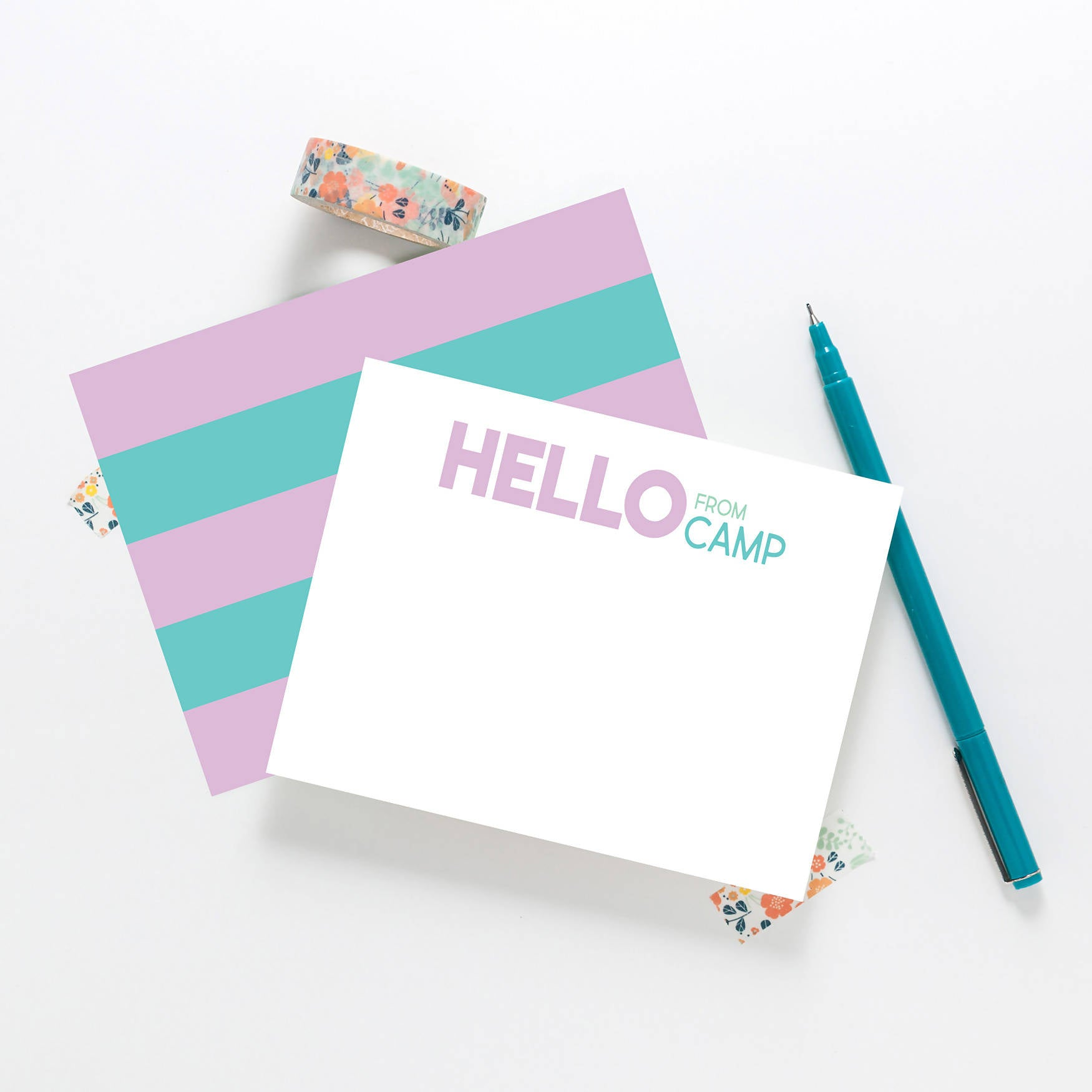 Camp Stationery - Lavender