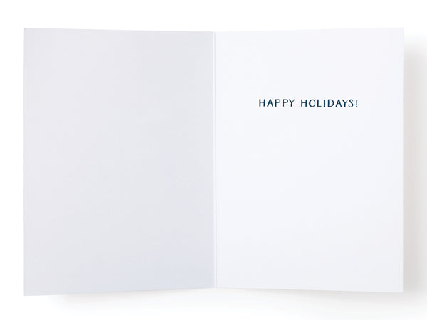 May Your Holiday Be as Bright as Your Spirits Are Light Greeting Card