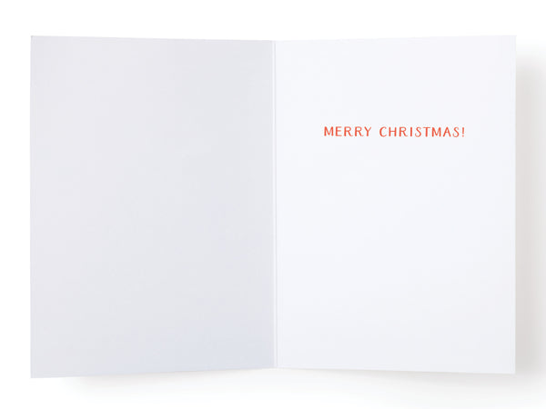 You Sleigh B*tch Greeting Card