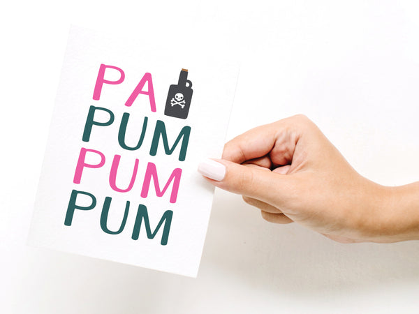 Pa Rum Pum Pum Pum Greeting Card