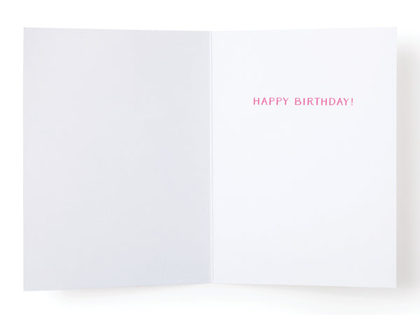 Lost Count Birthday Cake Greeting Card