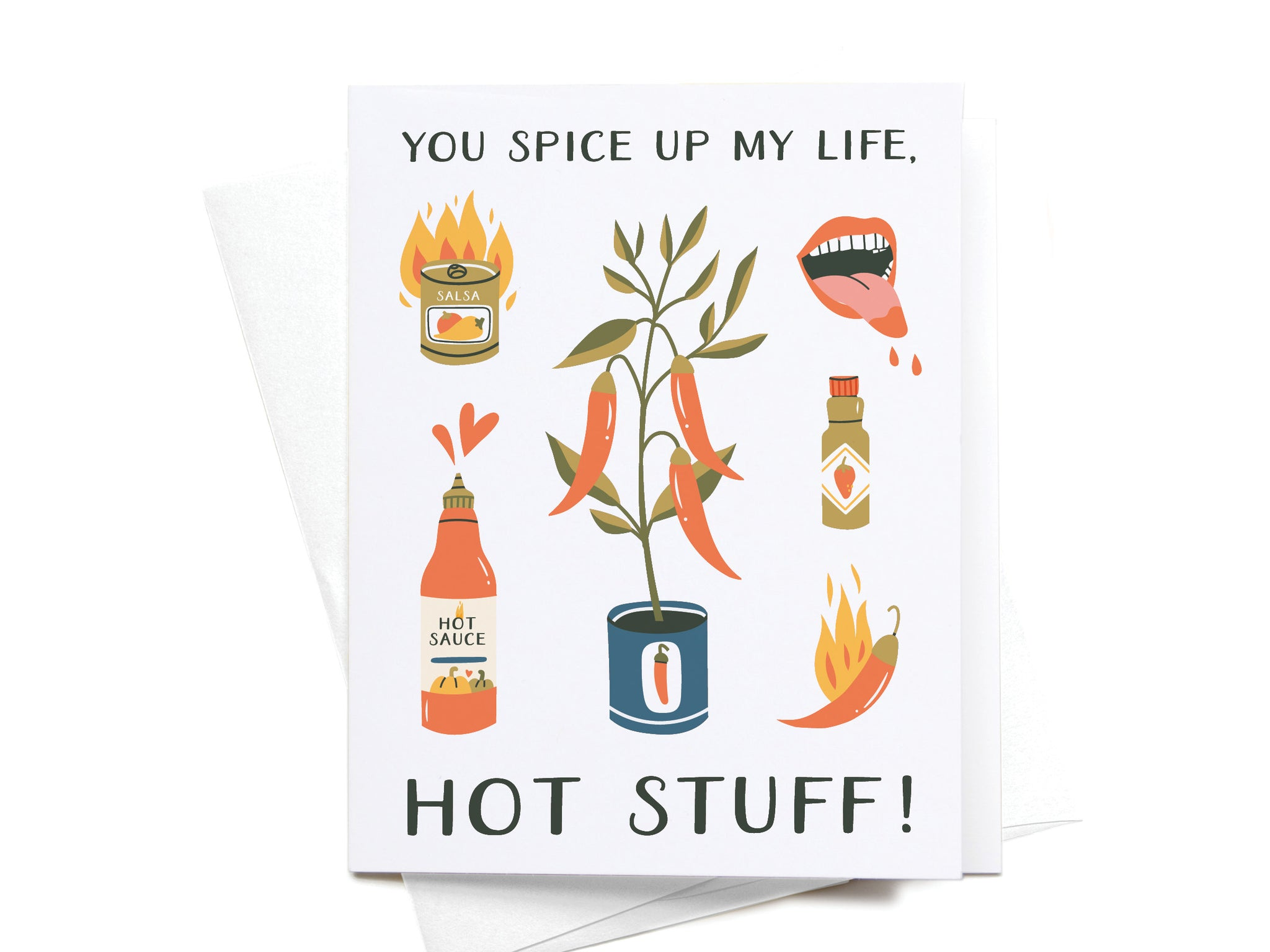 You Spice Up My Life Greeting Card