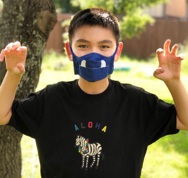 Character Cotton Face Mask [from Mi Cielo]