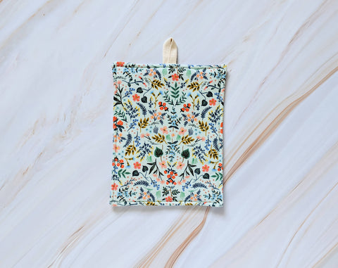 Wildwood Mint Rifle Paper Co Pot Holder