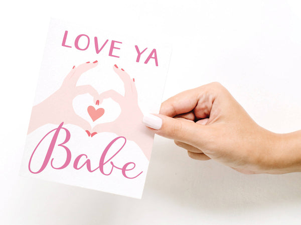 Love Ya Babe Greeting Card