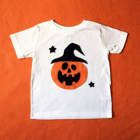 Pumpkin Witch - Kids Tee - Costume