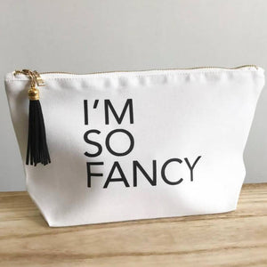 I'm So Fancy Makeup Bag