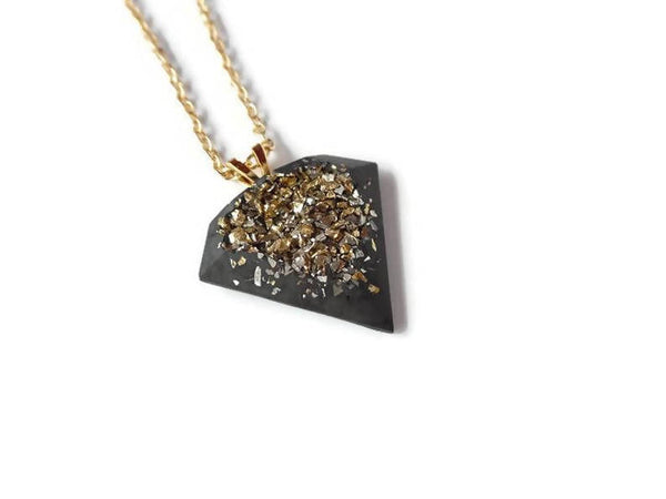 Cement Diamond pendant