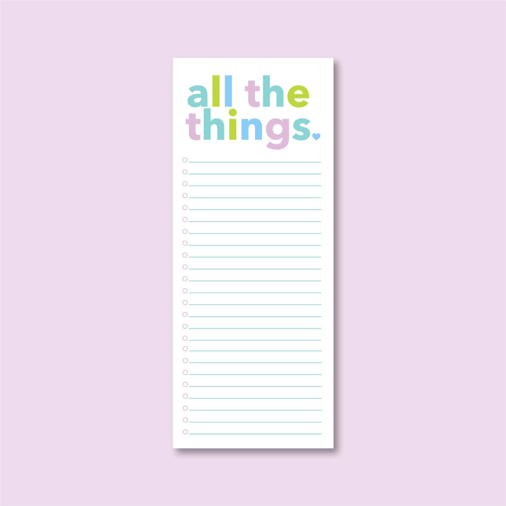 All the Things Notepad