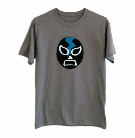 Luchador Negro - Black Mexican Wrestler Men's T-Shirt