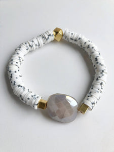 Moonstone Stretchy Bracelet