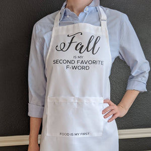 Fall and Food Apron