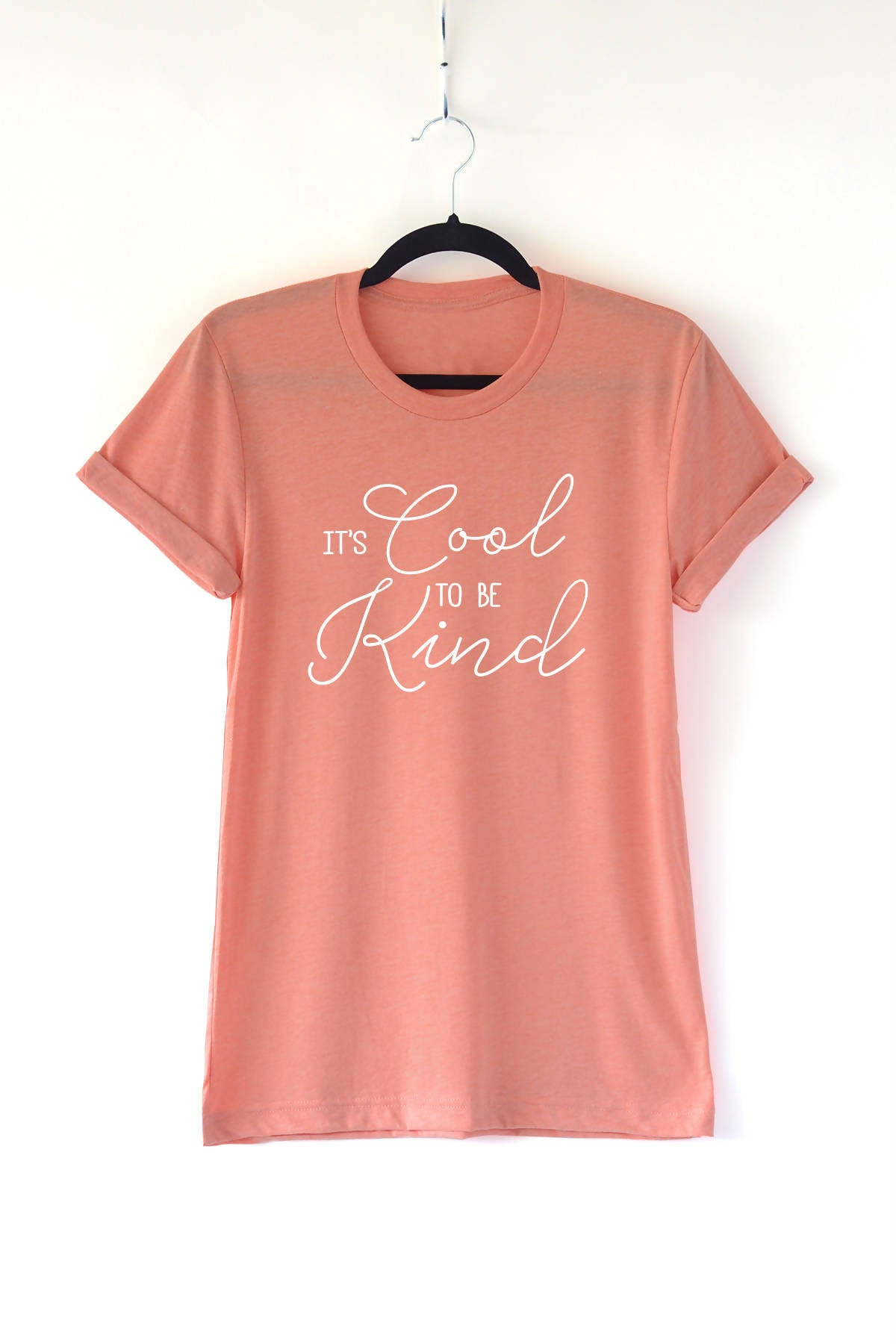 Cool To Be Kind Adult Crewneck Tee