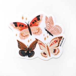 Butterfly Magic Sticker