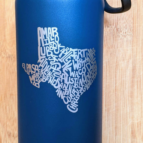 Texas Cities Decal