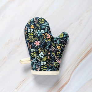 Navy Herb Garden Rifle Paper Co Oven Mitt