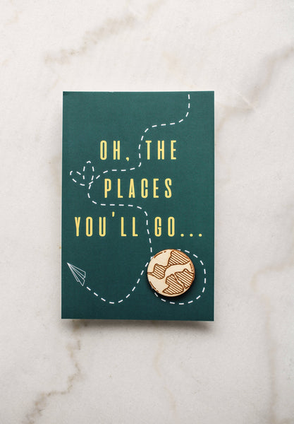 Oh, The Places You'll Go Card