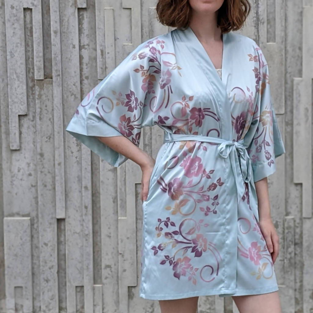 Floral Painted Robe