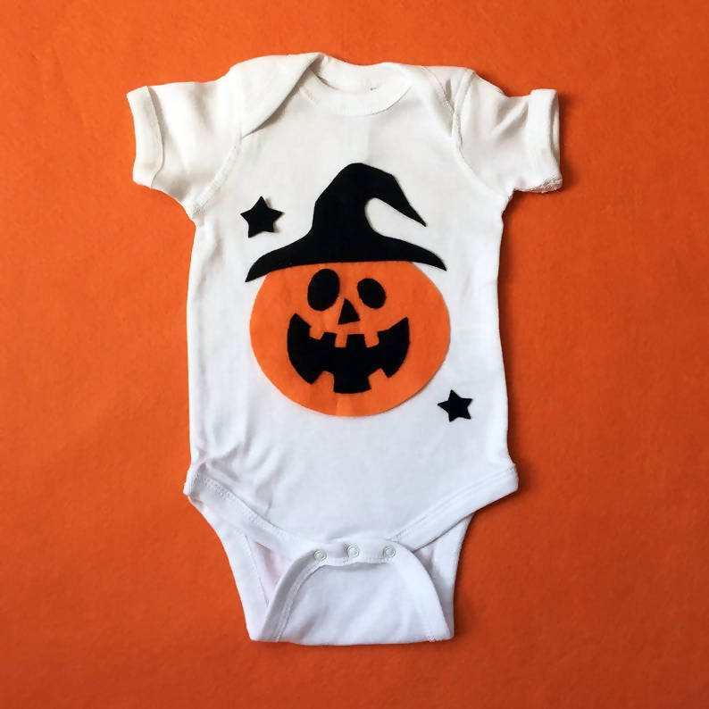 Pumpkin Witch - Baby Bodysuit - Costume