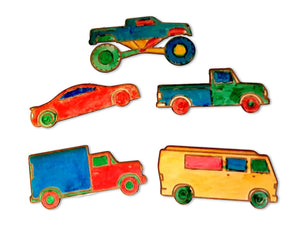 Pack of Cars Colorblocks