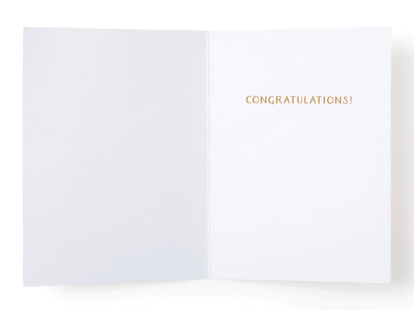 OMG, You're Engaged! Rock Greeting Card