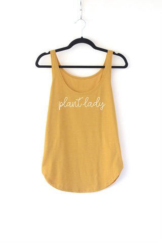 Plant Lady Ladies Tank Top