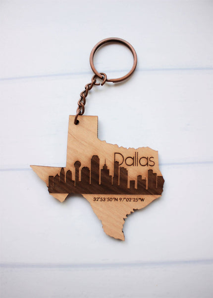 Wooden Keychains - multiple styles