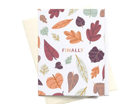 Finally Fall Greeting Card