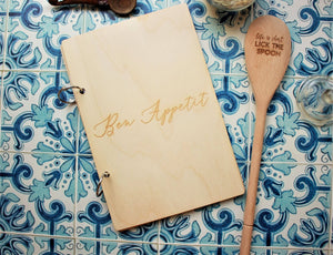 Refillable Journal - Recipes, Notes and More