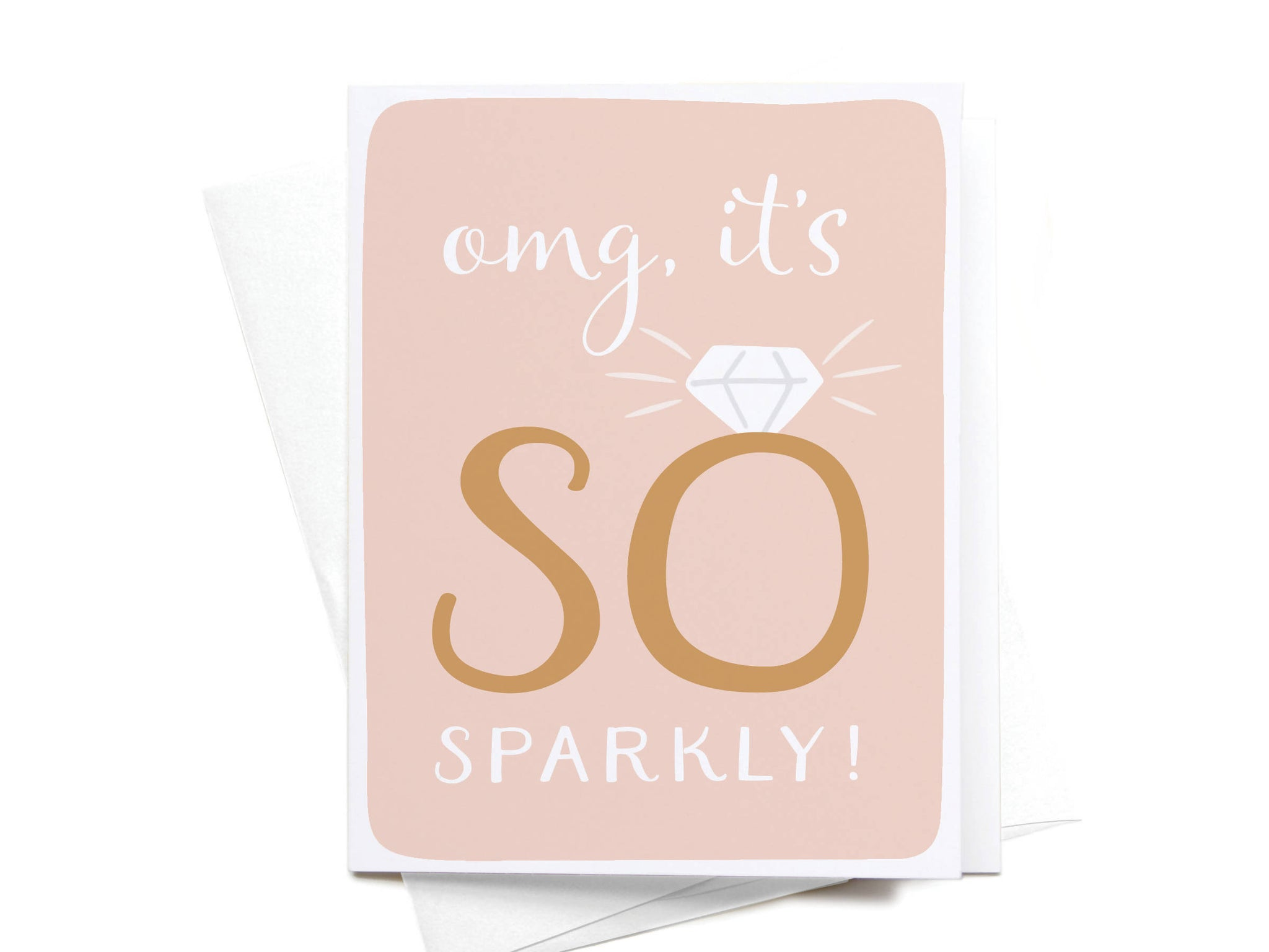 OMG, It's So Sparkly Greeting Card