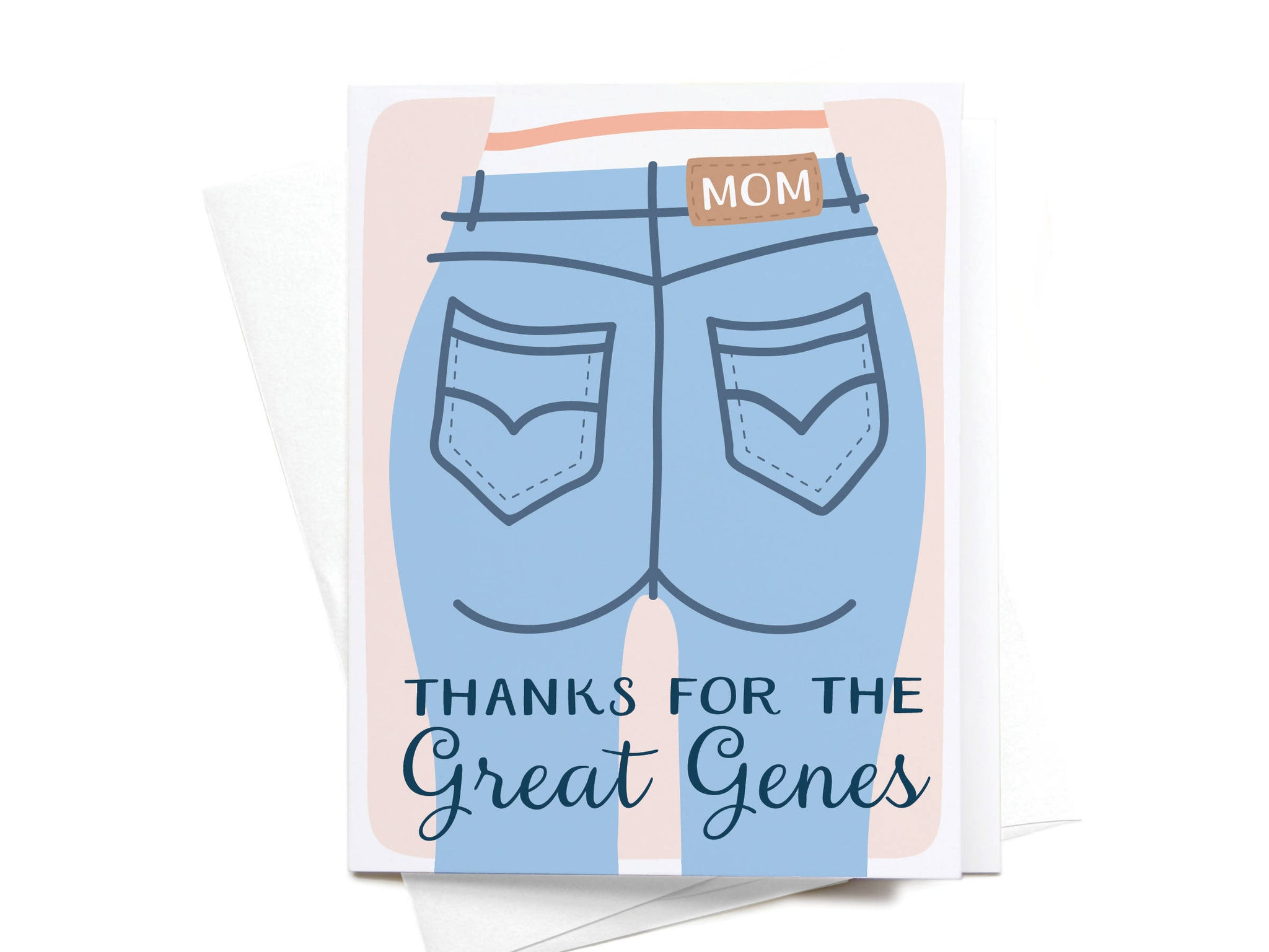 Thanks for the Great Genes Greeting Card