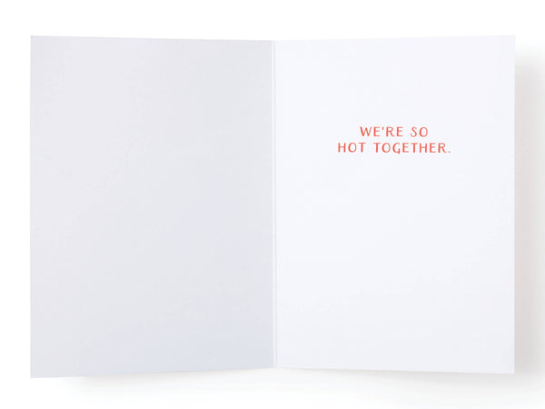 We Make the Most Perfect Match Greeting Card