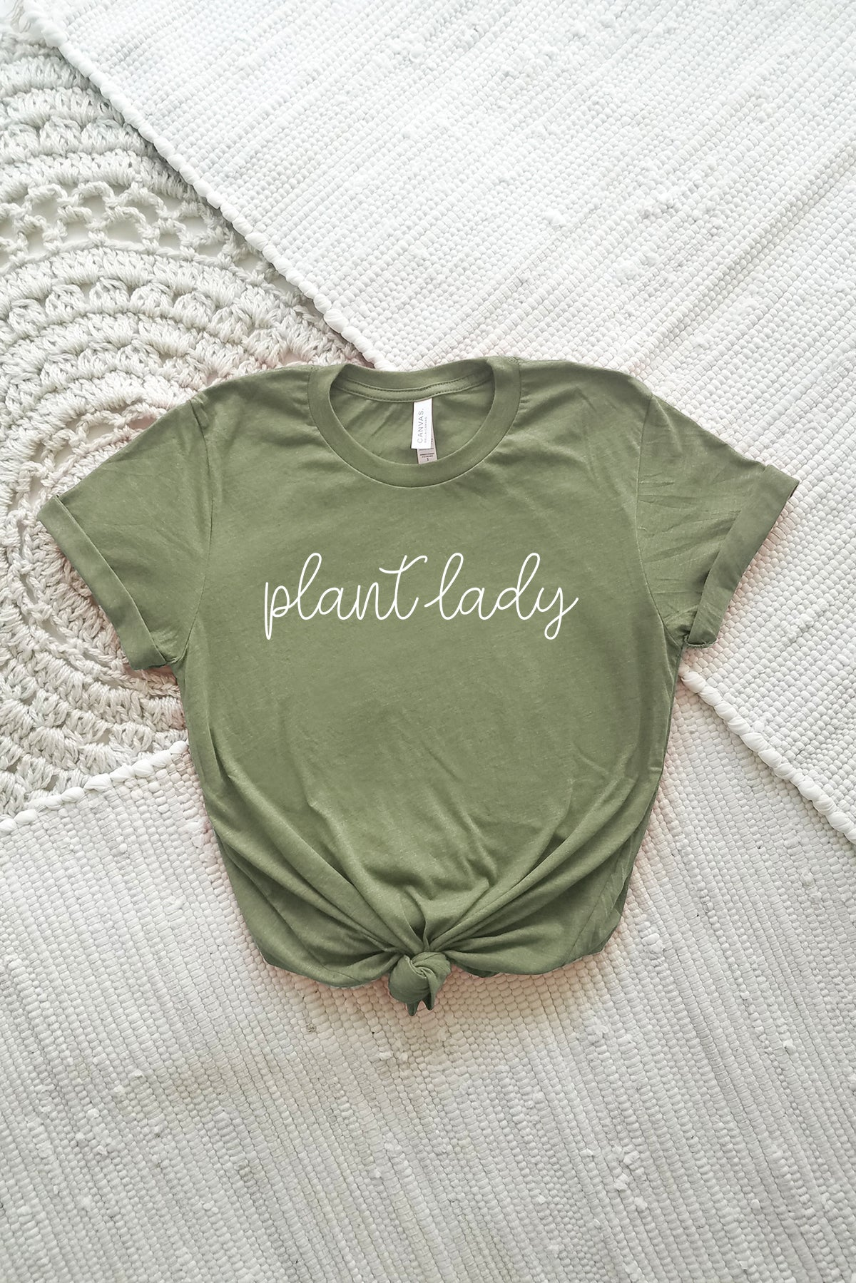 Plant Lady Adult Crewneck Tee