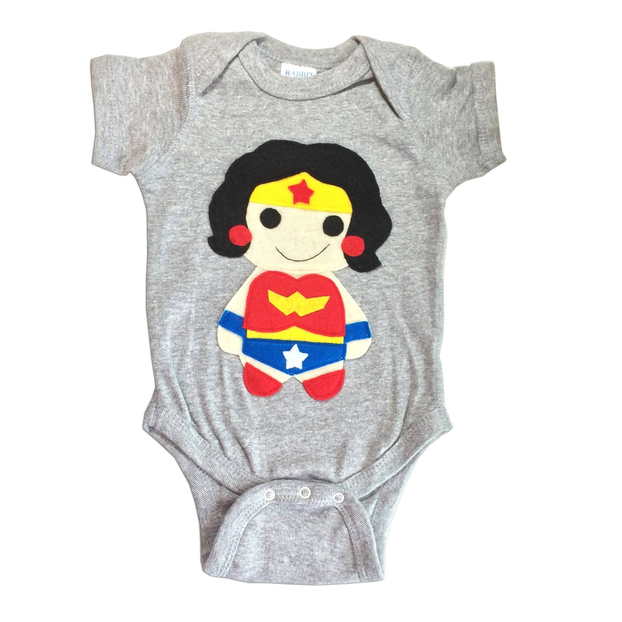 Super Hero Onesie - Wonder Girl