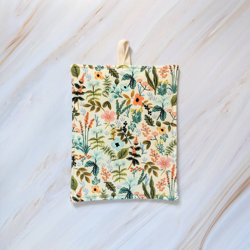 Cream Herb Garden Rifle Paper Co Pot Holder