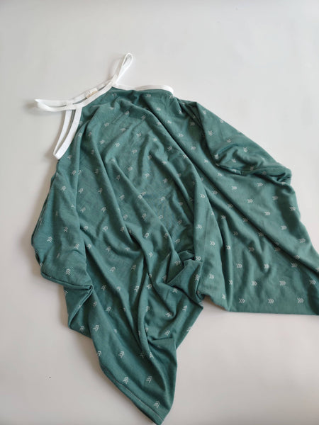 Jade Arrow Romper