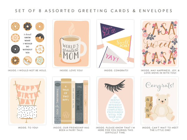 Assorted Occasion Greeting Card Box Set