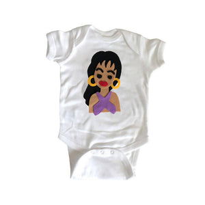 The Queen of Tejano Music - Infant Bodysuit