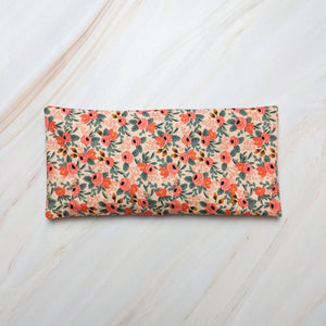 Peach Rosa Rifle Paper Co Lavender Scented Eye Pillow