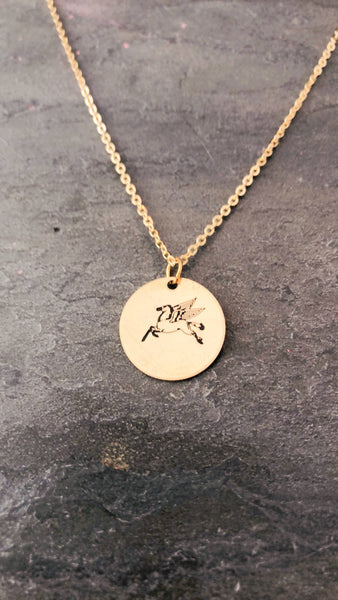Dallas Pegasus Necklace