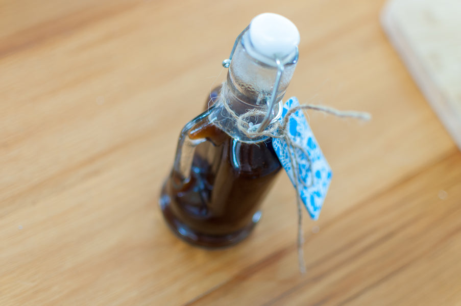 Make your own Alcohol-Free Vanilla Extract!
