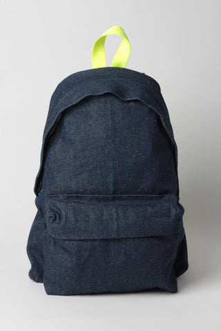 DENIM & YELLOW - BACKPACK
